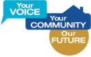 your voice your community our future